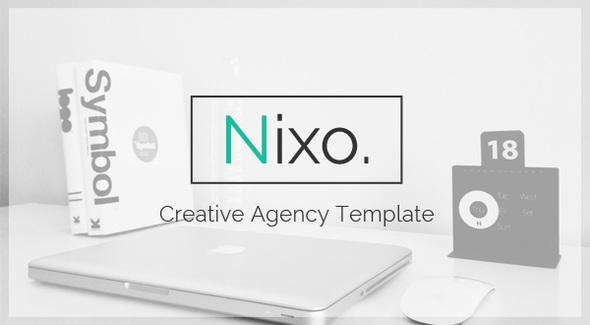 Nixo Creative OnePage Template