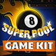 Super Pool - Billiard Game Kit - GraphicRiver Item for Sale