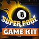 Super Pool - Billiard Game Kit