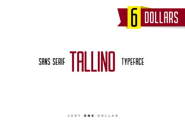 Tallino - Sans-Serif Fonts