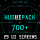 Hud UI Pack 700+ - VideoHive Item for Sale