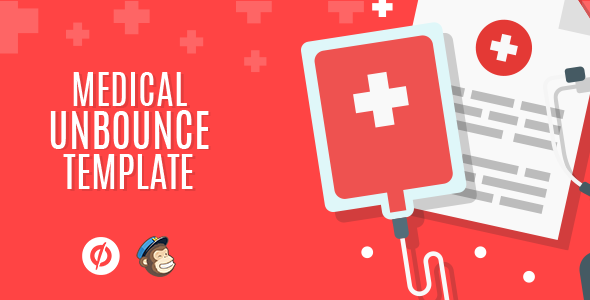 Medical – Unbounce Template