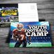 Football Camp Postcard - GraphicRiver Item for Sale