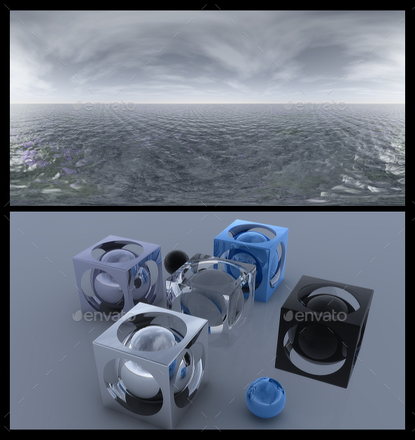 Ocean Grey 3 - HDRI - 3DOcean Item for Sale