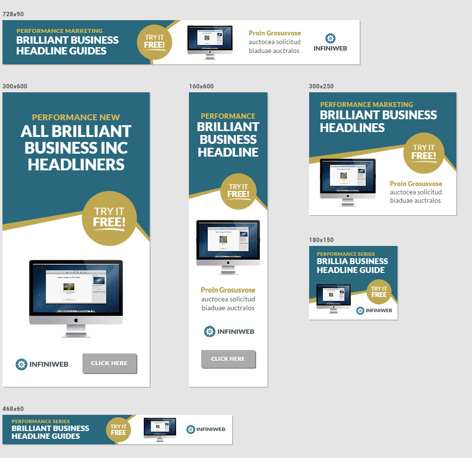 Ecommerce Marketing Banners Chamber Commerce Banners