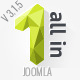 All In One — Multipurpose Joomla Template Nulled