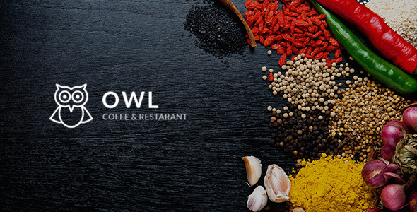 OWL – Cafe & Restaurant Drupal 8 Template