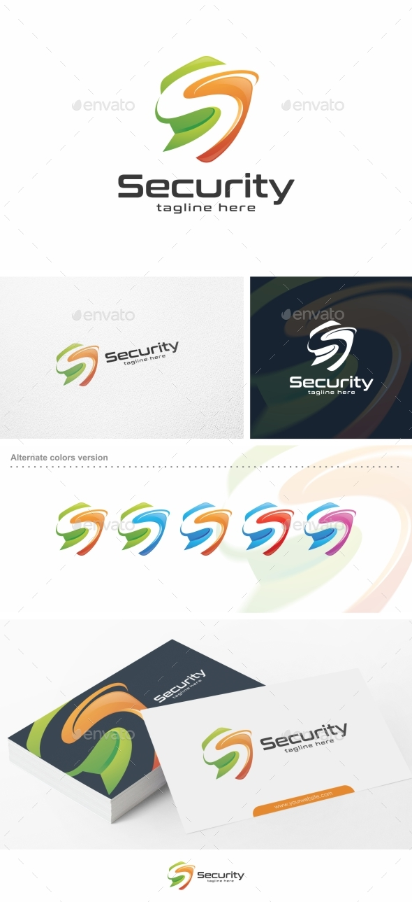 Security / Shield - Logo Template - Letters Logo Templates