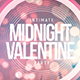 Midnight Valentine - Flyer Template - GraphicRiver Item for Sale