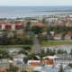 Top Panorama of Reykjavik City with Lake Tjornin in Autumn Time, Calm Cityscape - VideoHive Item for Sale