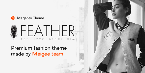 Feather – Responsive Magento 1 and Magento 2 Theme