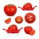Vector Icons of Tomato - GraphicRiver Item for Sale