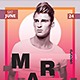 EDM Dj Poster v7 - GraphicRiver Item for Sale