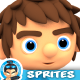 3D Rendered Game Character Sprites 08 - GraphicRiver Item for Sale