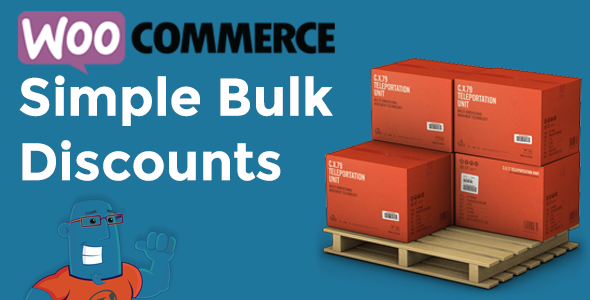 WooCommerce Simple Bulk Discounts - CodeCanyon Item for Sale