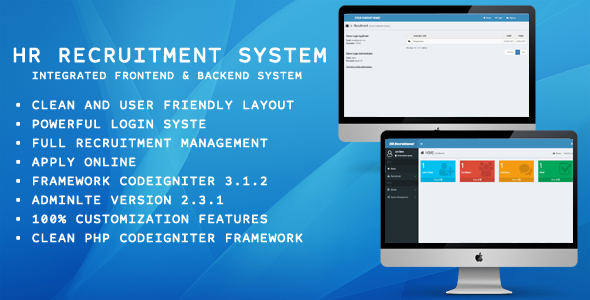 HR Recuitment System - CodeCanyon Item for Sale
