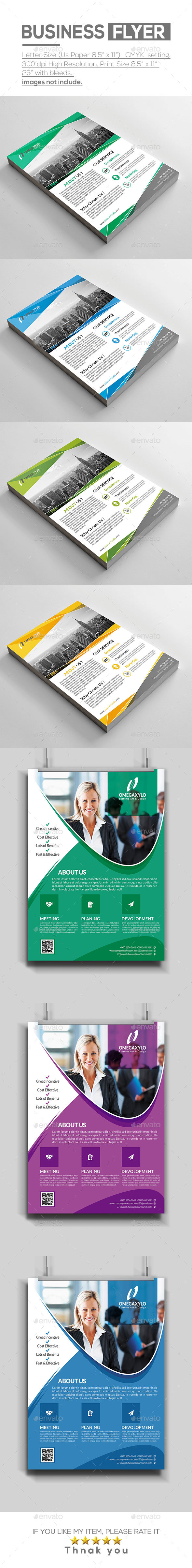 Flyer Bundle ( 2 In 1 ) - Corporate Flyers
