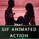 Gif Animated Valentine Photoshop Action - GraphicRiver Item for Sale