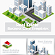Building Business Cards - GraphicRiver Item for Sale