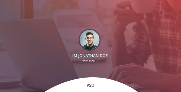 Verka - CV/Resume PSD Template - Miscellaneous PSD Templates