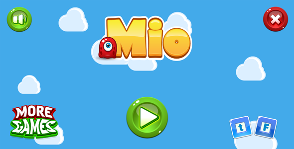 Mio - HTML5 game. Construct2 (.capx) + mobile - CodeCanyon Item for Sale