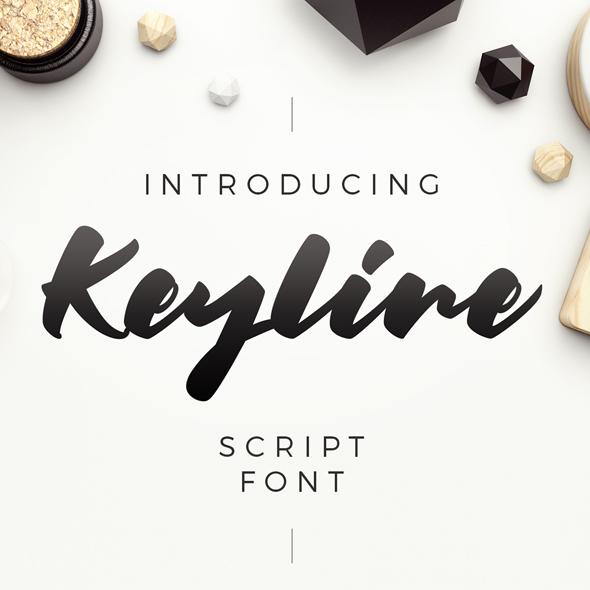 Keyline Script Font - Hand-writing Script