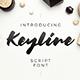Keyline Script Font - GraphicRiver Item for Sale