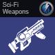 Sci-Fi Laser Rifle Bursts 2