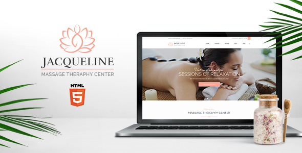 Jacqueline | Spa & Massage Salon Site Template - Health & Beauty Retail