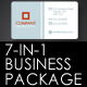 7-in-1 Minimal Steel Business Package Kit - GraphicRiver Item for Sale