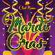 Mardi Gras Carnival Rollup Banner 81 - GraphicRiver Item for Sale