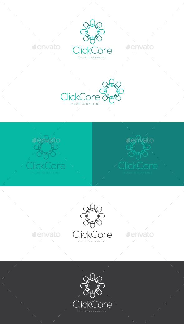 Click Core Logo - Objects Logo Templates