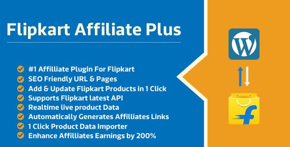 Flipkart Affiliate Plus - Affiliate Product Management Plugin - CodeCanyon Item for Sale