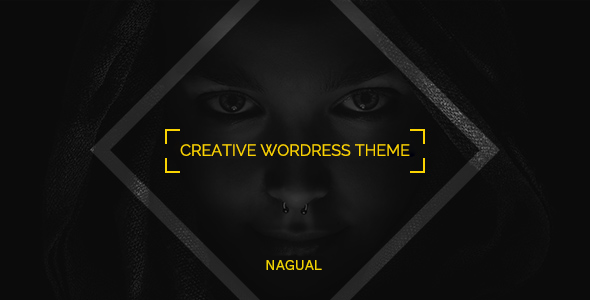 Nagual – Unique Personal/Agency Portfolio WordPress Theme