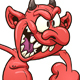 Crazy Devil - GraphicRiver Item for Sale
