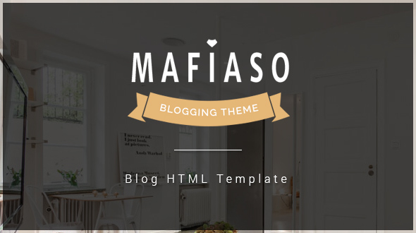 Mafiaso – Blog HTML Template