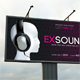 Exsound Party Outdoor Banner