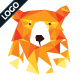 Polygonal Bear Logo Template - GraphicRiver Item for Sale