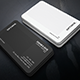 BW Creative Business Card - GraphicRiver Item for Sale