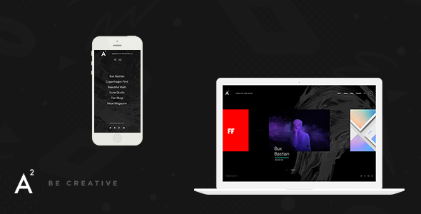 A2 - Creative WordPress Theme - Portfolio Creative