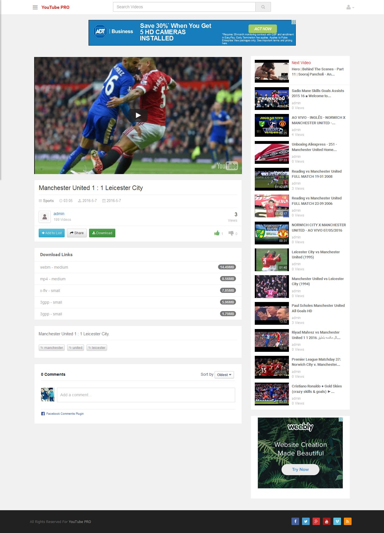 YouTube CMS Pro Version By Xmush