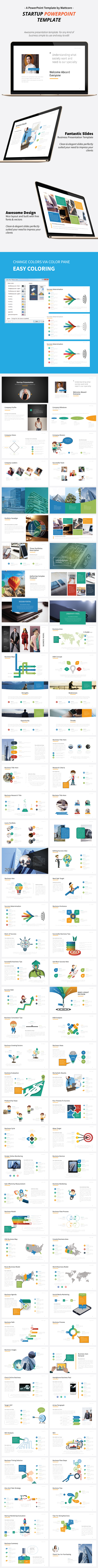 Startup Presentation Template - Business PowerPoint Templates
