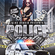 Police Party Flyer Template - GraphicRiver Item for Sale