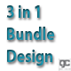 3 in 1 Bundle Design - GraphicRiver Item for Sale