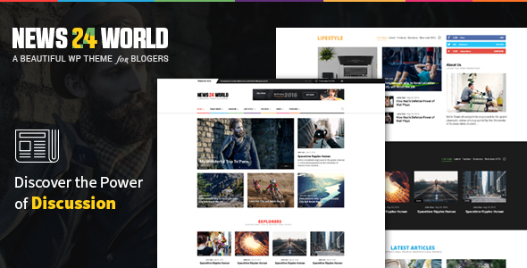 News24 – Responsive WordPress News / Magazine / Newspaper Theme