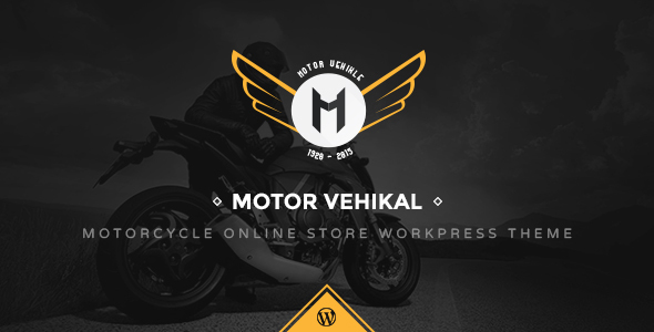 Motor Vehikal - Motorcycle Online Store WordPress Theme - WooCommerce eCommerce