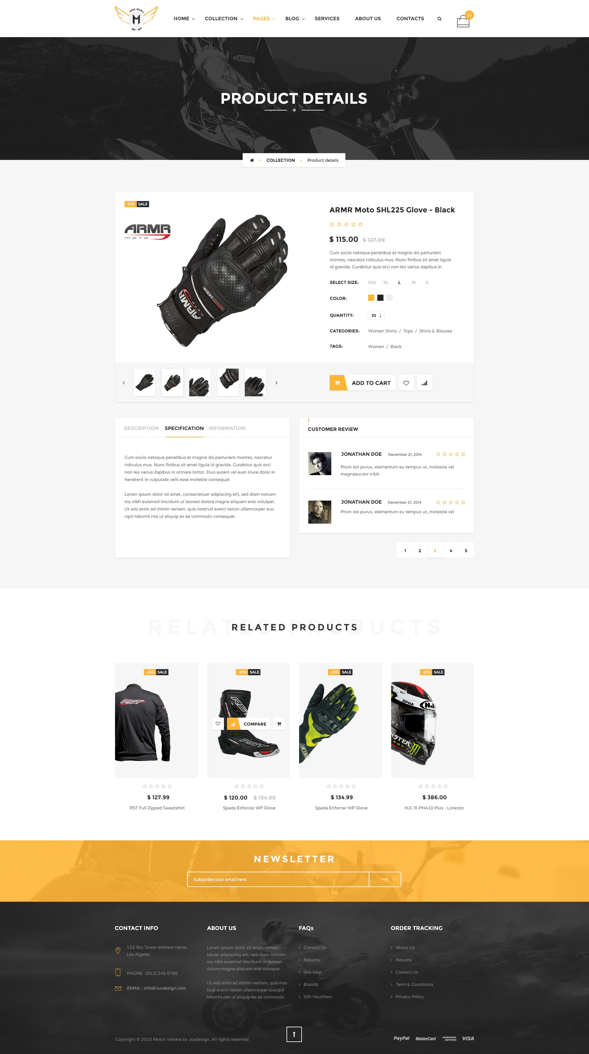4d195eb9e0fe Motor Vehikal - Motorcycle Online Store WordPress Theme by YoloTheme