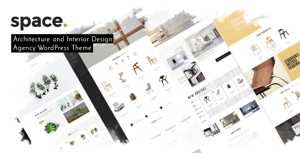 Space - Interior Architecture Furniture WooComerce WordPress Theme