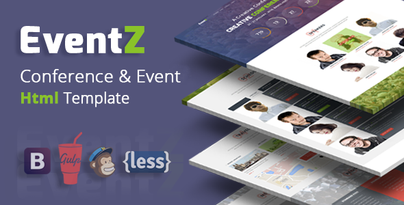 EventZ – Conference & Event Html Template - Events Entertainment