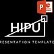 HIPU - Black White Presentation Template - GraphicRiver Item for Sale
